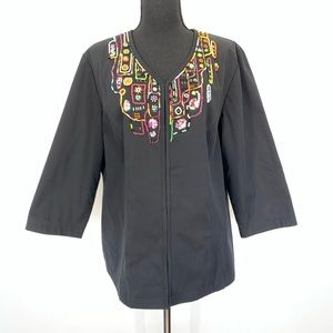 Additions by Chico's beaded blazer